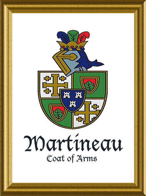 crest framed